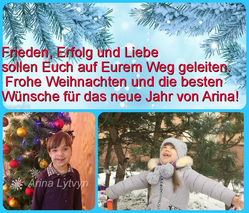 Weihnachtsgrüße von Arina